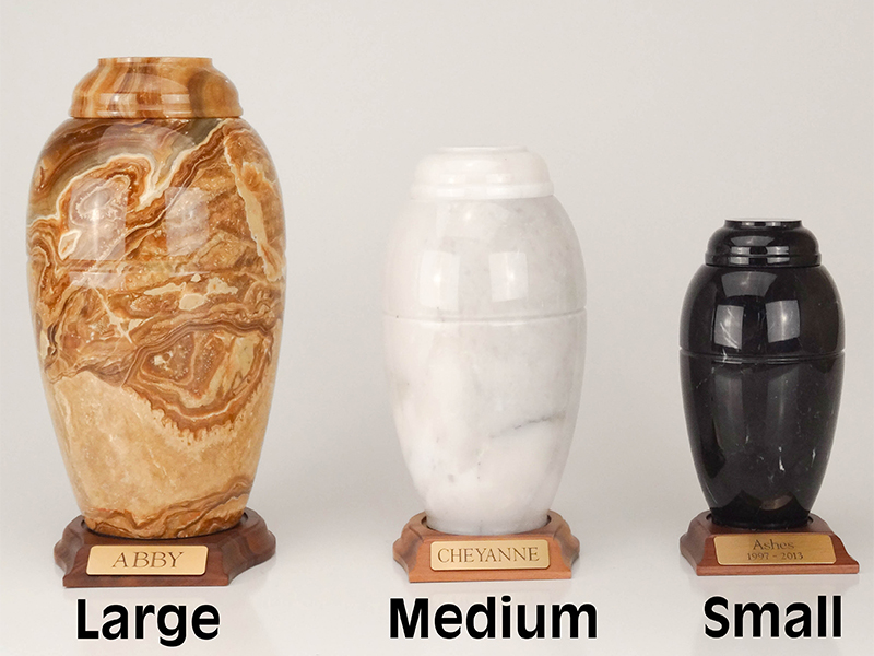 Marble Vase Series - Large (with base)