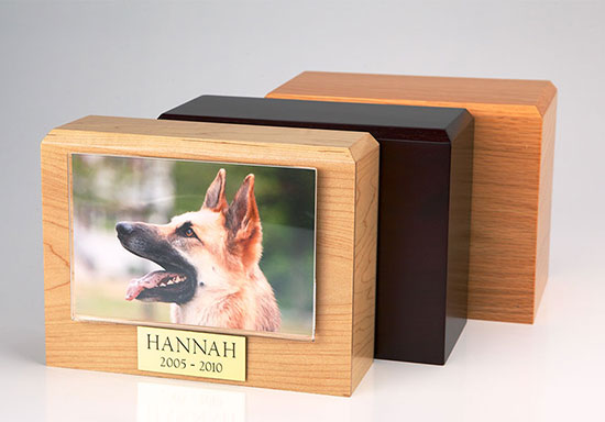 Photo Urn - Large - 4 x 6 photo holder