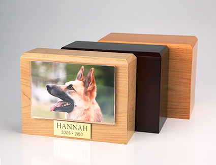 Photo Urn - Small- 3.5 x 5 photo holder