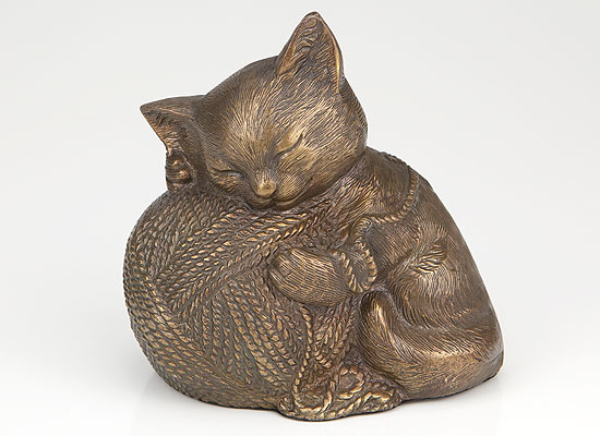 Precious Kitty - Bronze