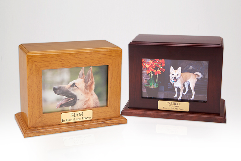 Framed Photo Urn - Large Horizontal