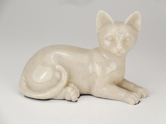 Faithful Feline Urn - Laying