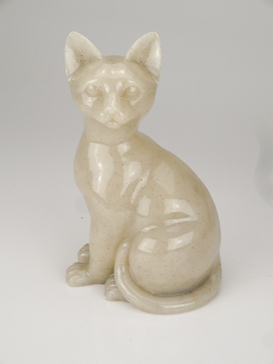 Faithful Feline Urn - Sitting